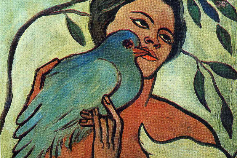Francis Picabia. Girl with a bird