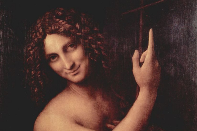 Leonardo da Vinci. Saint John The Baptist
