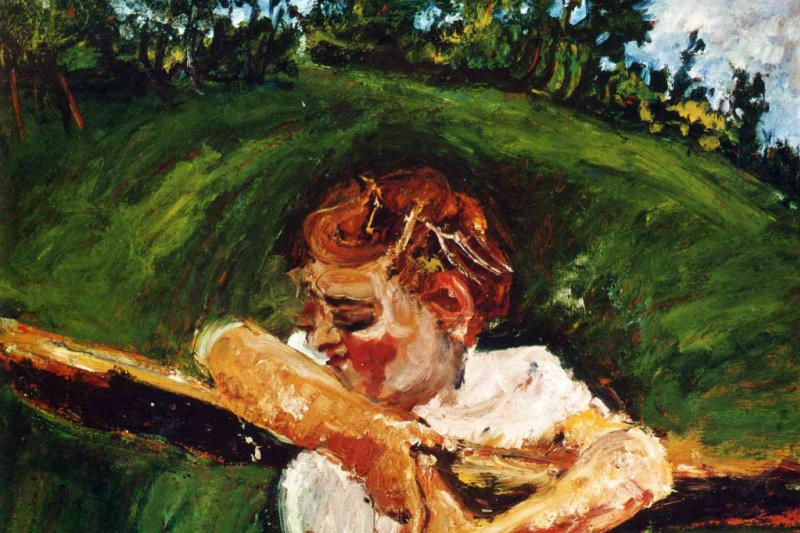 Haim Solomonovich Soutine. The girl on the fence