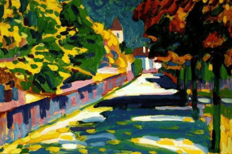 Wassily Kandinsky. Autumn in Bavaria
