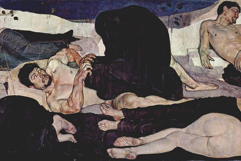 Ferdinand Hodler. Night