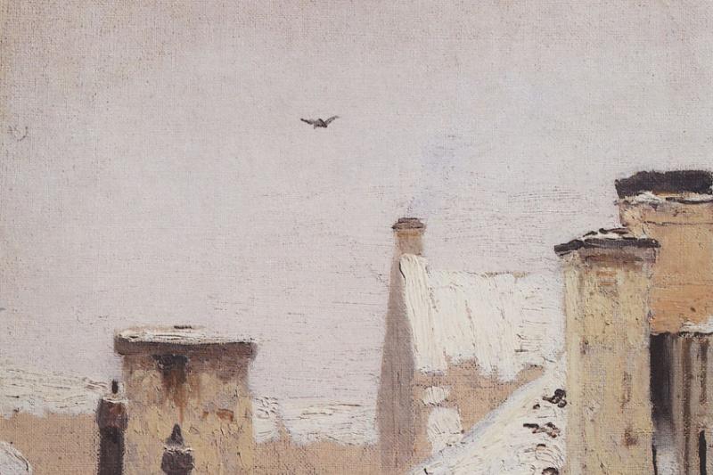 Архип Иванович Куинджи. Крыши. Зима