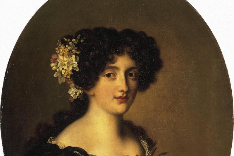 Jakob Ferdinand Foot. Portrait Of Gabriela Mancini