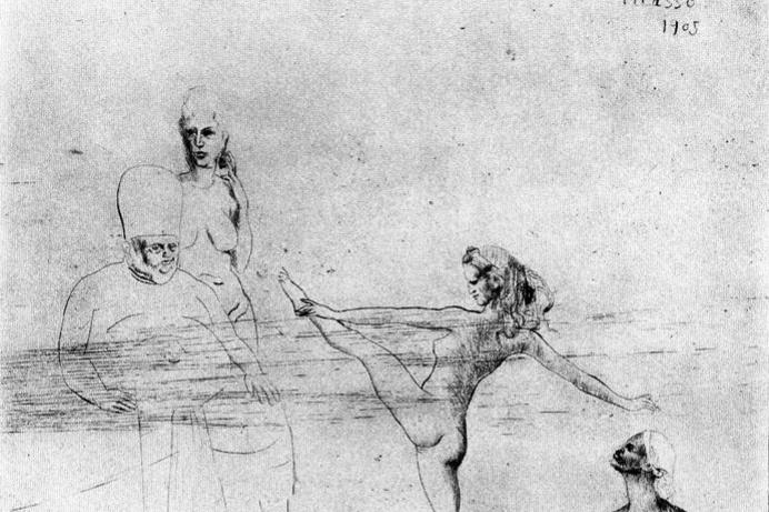 Pablo Picasso. Salome