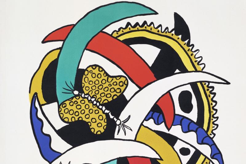 Fernand Leger. Butterfly