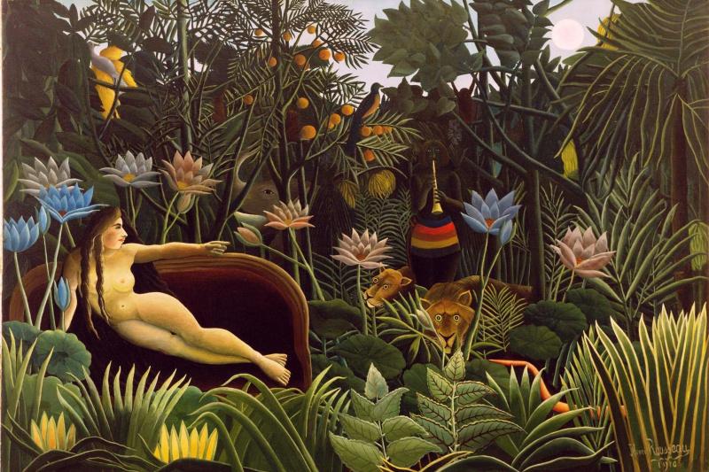 Henri Rousseau. Sleep