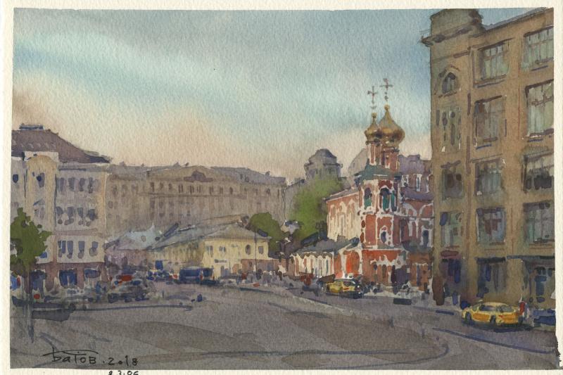 Anton Batov. Славянская площадь