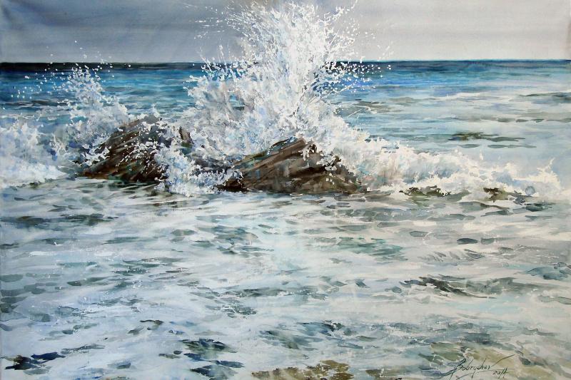 Alexander Bobryshev. Splash wave