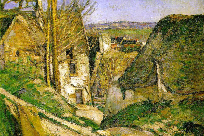 Paul Cezanne. The house of the hanged man