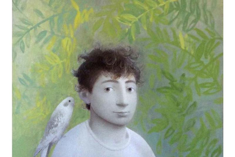 Sergey Konstantinov. Boy with bird