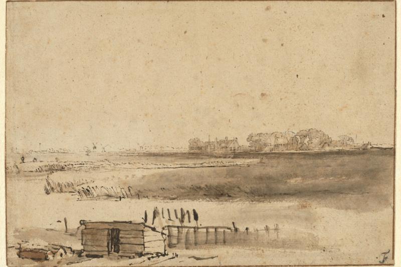 Rembrandt Harmenszoon van Rijn. View Humevale near Sint-Antonietta