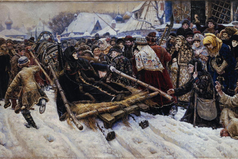 Vasily Ivanovich Surikov. Boyarynya Morozova
