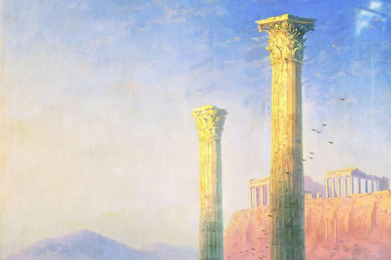 Ivan Aivazovsky. The Acropolis Of Athens