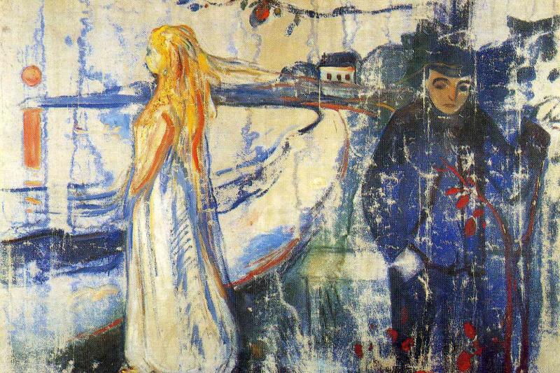 Edvard Munch. Separation