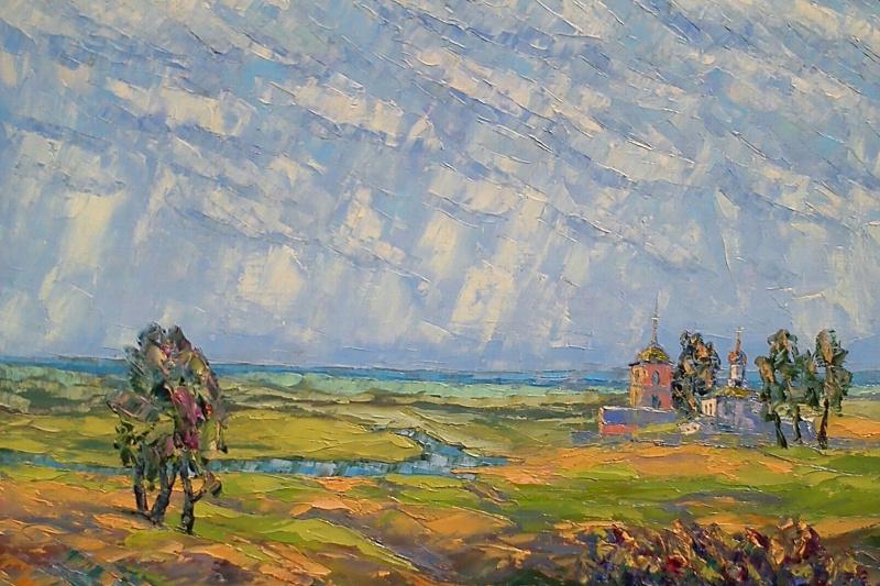 Alexey Ivanovich Gladkikh. Native prostoy