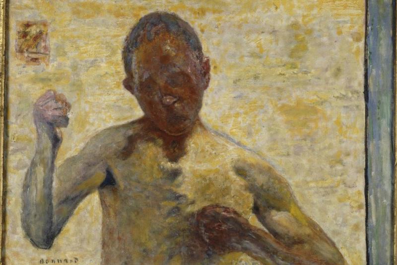 Pierre Bonnard. The boxer (self portrait)