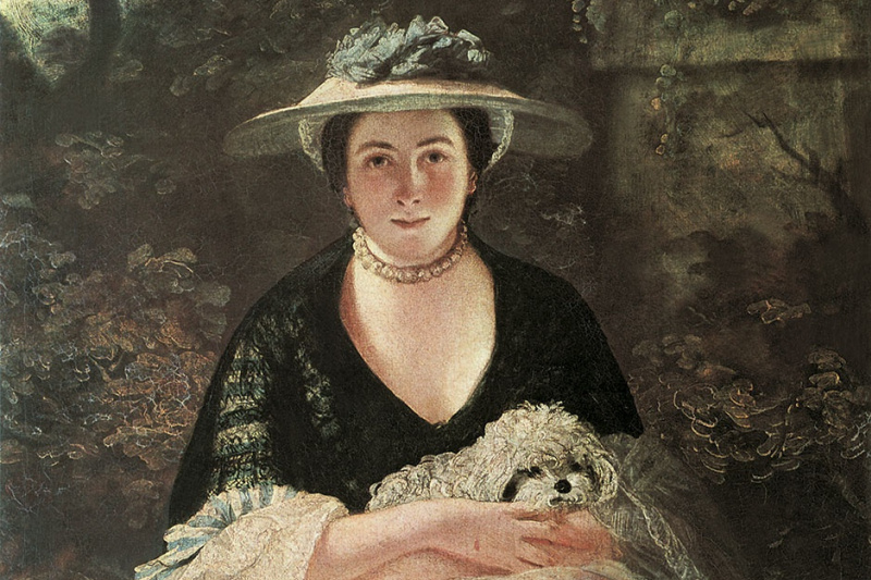 Joshua Reynolds. Portrait of Nellie O'Brien