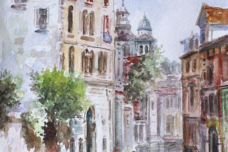 Сергей Владимирович Дорофеев. Watercolor Venice