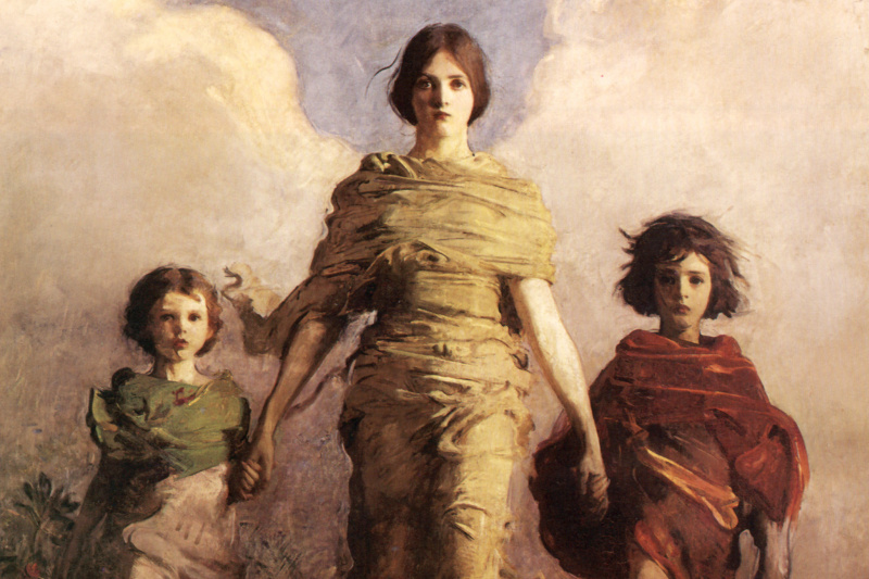 Abbott Henderson Thayer. Virgin