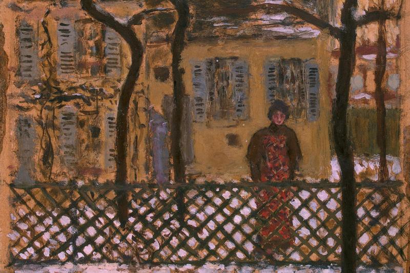 Pierre Bonnard. Behind the fence