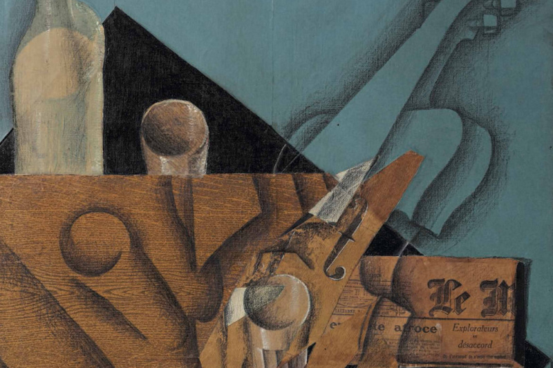 Juan Gris. La table de musicien