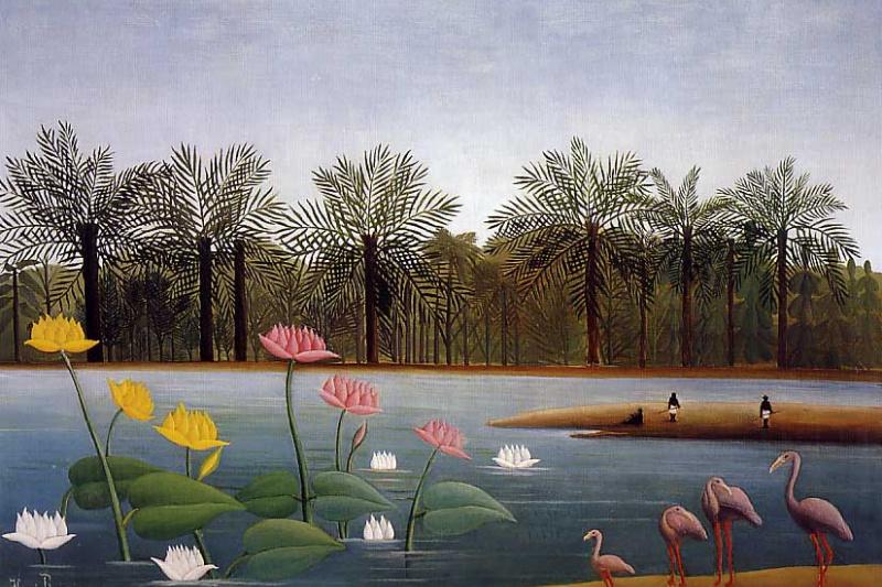 Henri Rousseau. Flamingo