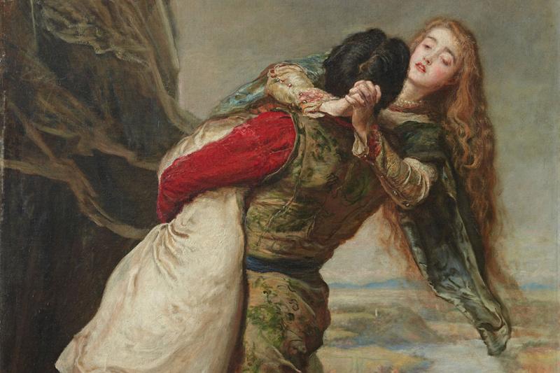 John Everett Millais. The crown of love