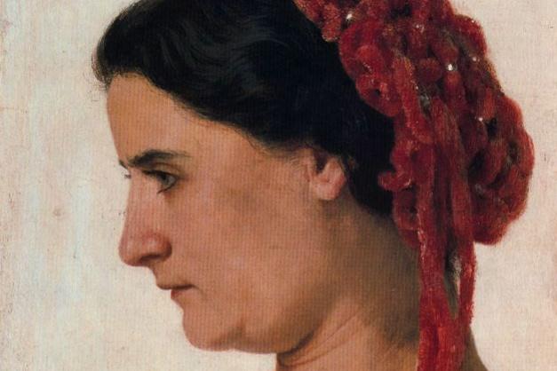 Арнольд Бёклин. Профиль женщины