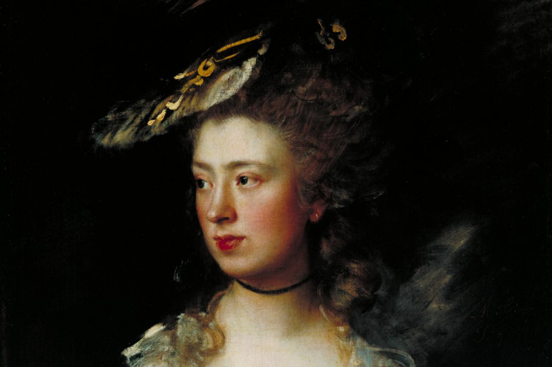 Thomas Gainsborough. Portrait of Mary Gainsborough, daughter of the artist