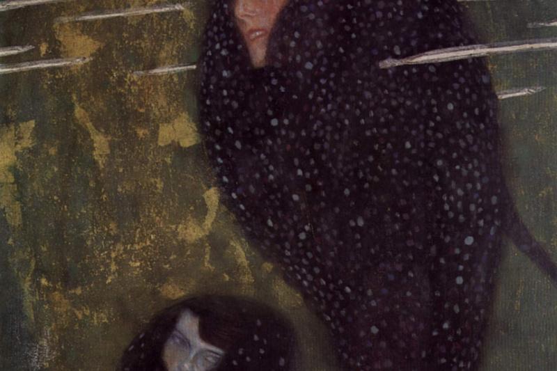 Густав Климт. Водяные нимфы (Серебряные рыбки)