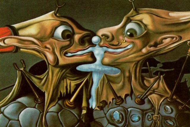 """Salvador Dali. Sketch for """"Destino"""""""