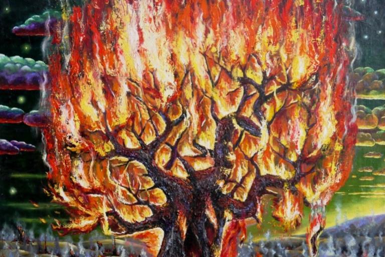 "Alfrid Shaymardanov. ""When flowered fireweed"""