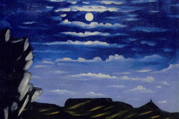 Niko Pirosmani (Pirosmanashvili). Arsenalskoy mountain night