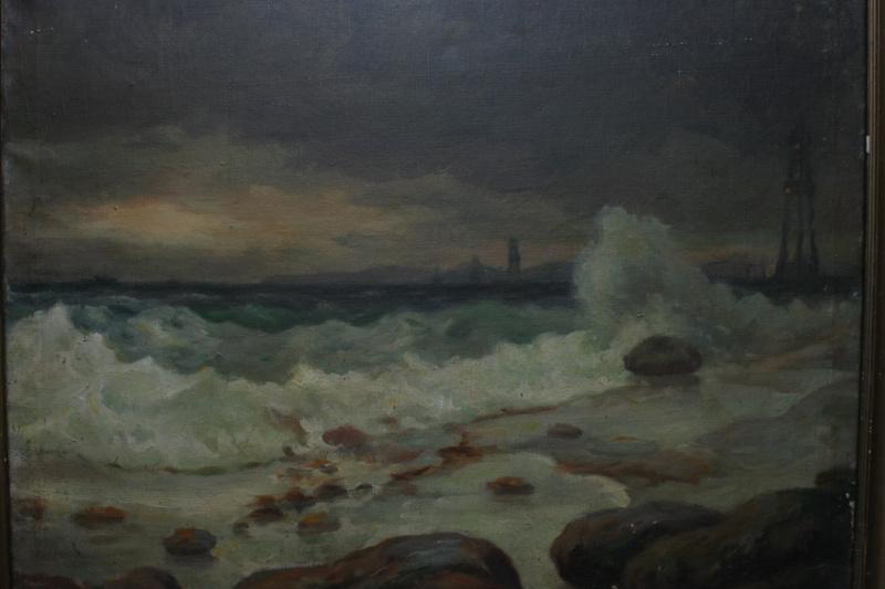 Boris Ilyich Lebeshev. Oil rocks