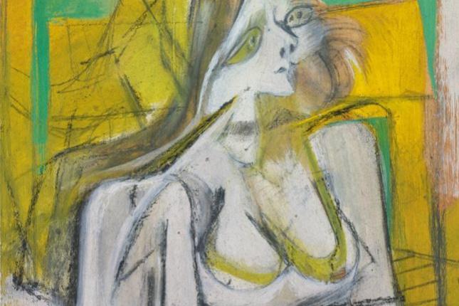 Willem de Kuning. Yellow woman