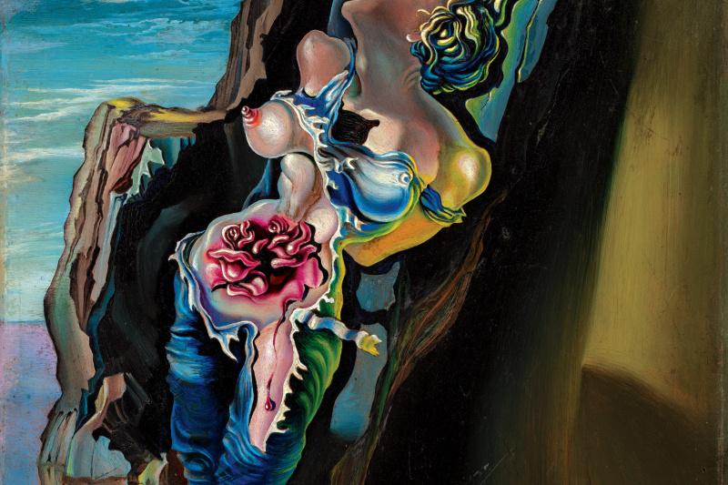 Salvador Dali. Gradiva
