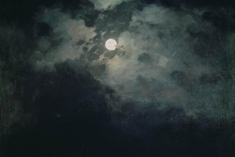 Ivan Aivazovsky. Night on the Black sea
