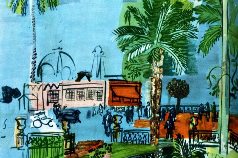 Raoul Dufy. Casino in nice