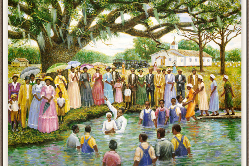 Beck Artello Jr.. People in the water