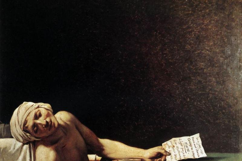 Жак-Луи Давид. Смерть Марата
