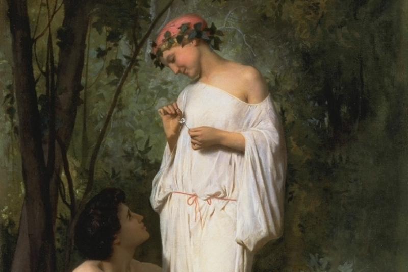 William-Adolphe Bouguereau. Idylle
