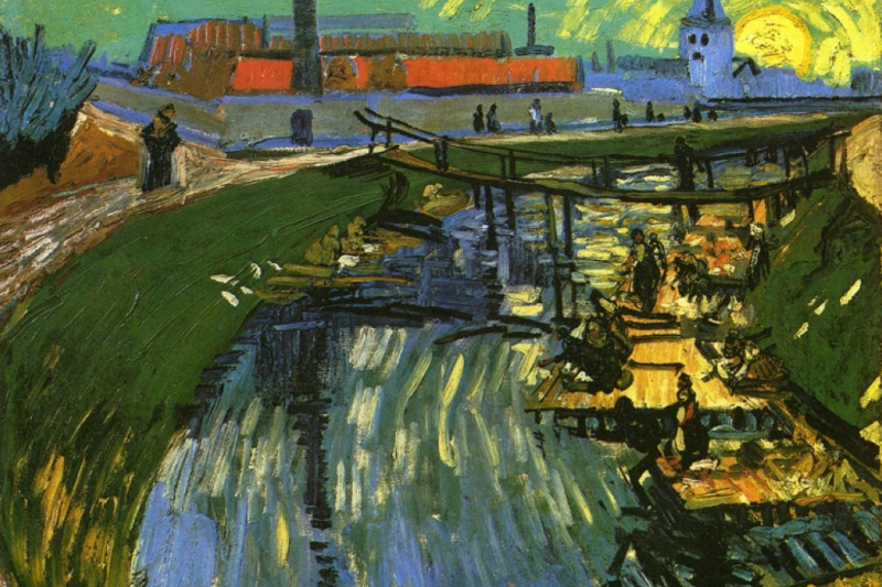 Vincent van Gogh. Channel and erase women
