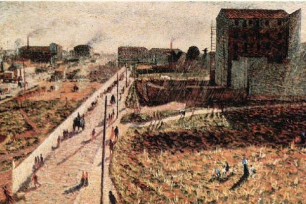 Umberto Boccioni. City life