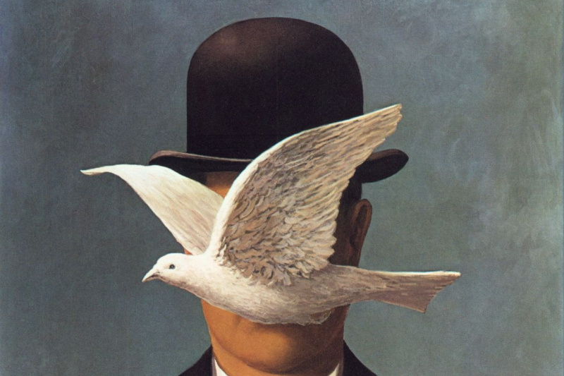 René Magritte. The man in the bowler hat