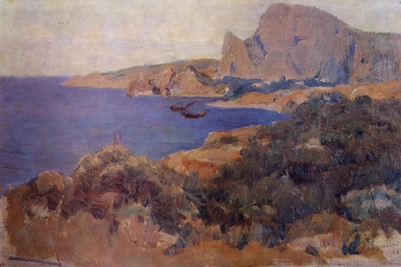 Vasily Ivanovich Surikov. Coast
