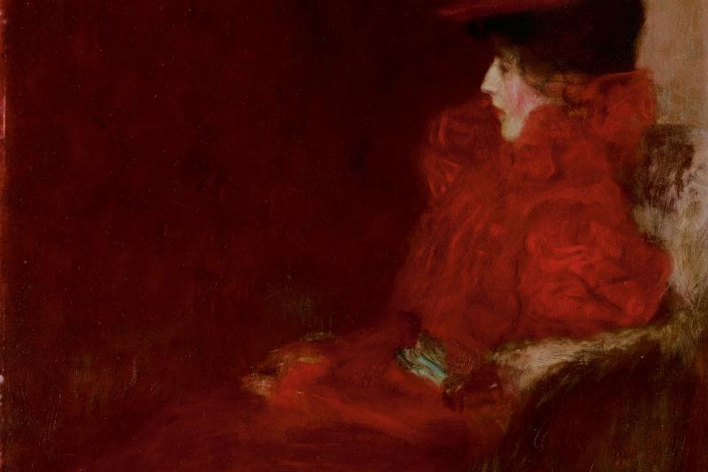 Gustav Klimt. Woman in the chair