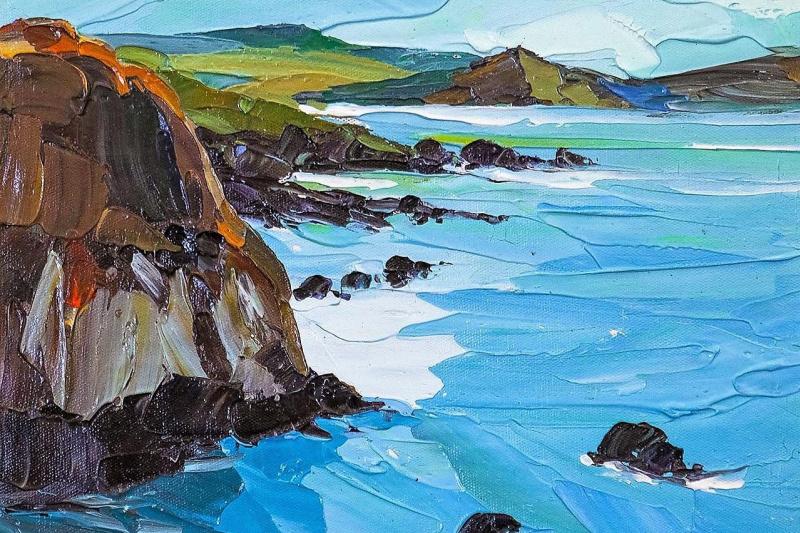 Jose Rodriguez. Endless distances, sea open spaces ...