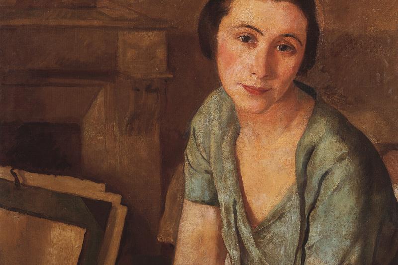 Zinaida Serebryakova. Portrait Of S. N. Andronikova-Galpern