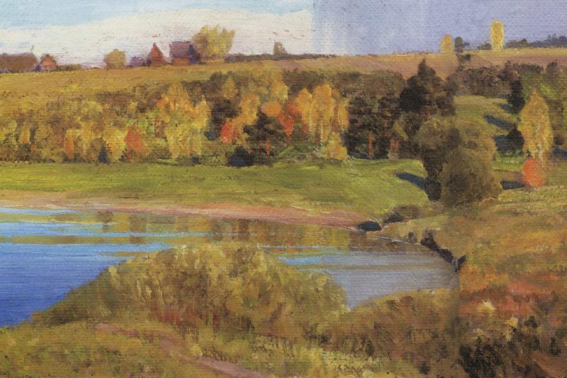 Vasily Dmitrievich Polenov. Oka near Tarusa