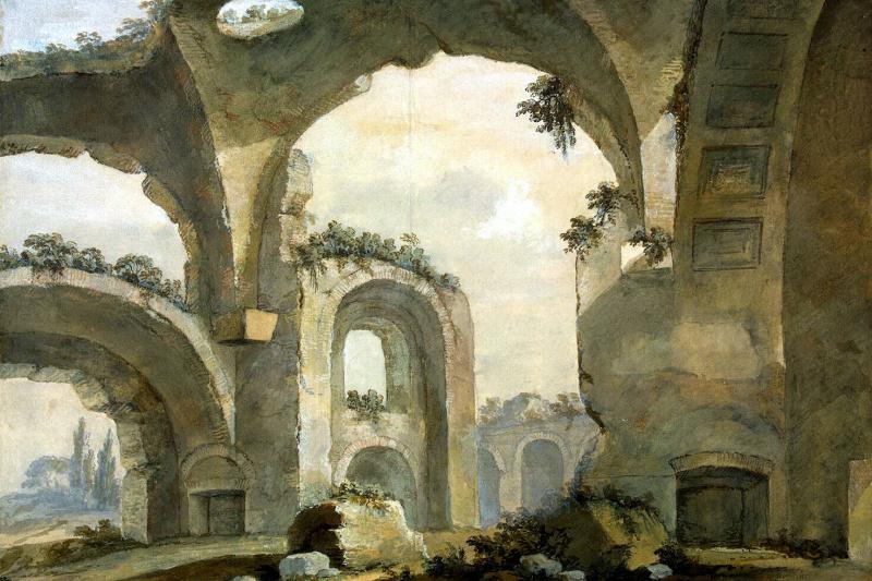 Charles-Louis Klerisso. Ruins
